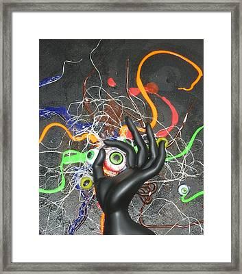 Quirkyeye Framed Print