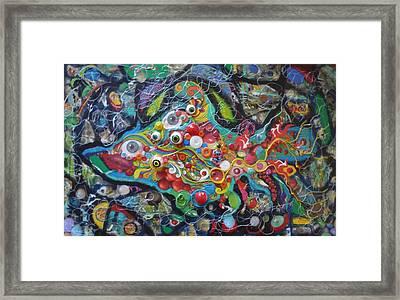 Quirkyfish Framed Print