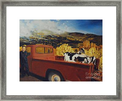 Quit Your Day Job Framed Print by Jan Little