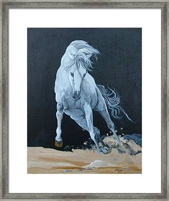 Quitapenas On The Run Framed Print by Janina  Suuronen