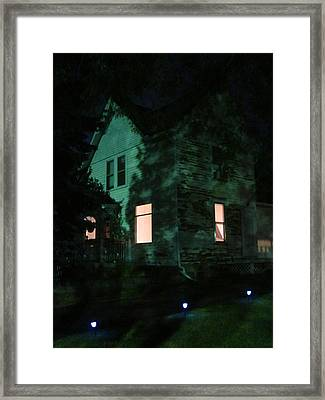 Quite The Weathered House Framed Print by Guy Ricketts