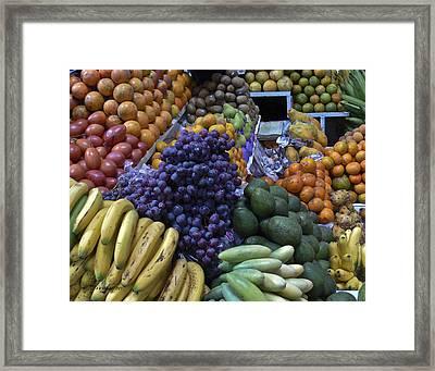 Quito Ecuador Market 1 Framed Print