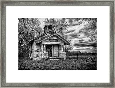 Quiver School Framed Print by Jeff Burton