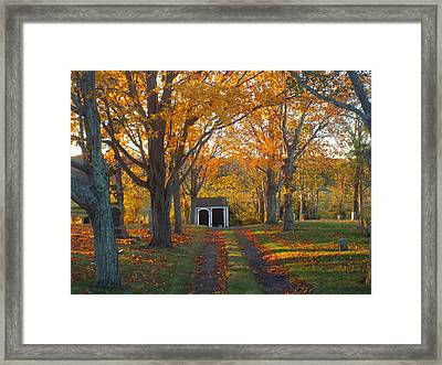 Framed Print featuring the photograph Quivet Morning by Dianne Cowen
