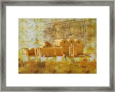 Quseir E Amra Framed Print