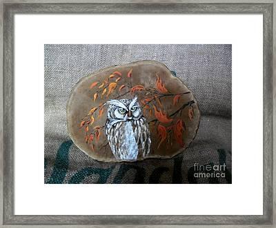 Qwl Framed Print by Ildiko Decsei