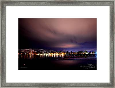 Framed Print featuring the photograph R U Out There by Guy Hoffman
