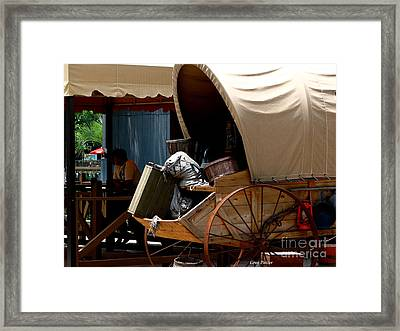 R V Framed Print by Greg Patzer