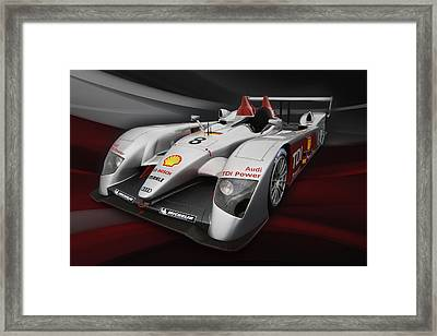 R10 Le Mans 2 Framed Print by Peter Chilelli
