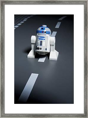 R2-d2 Framed Print by Samuel Whitton