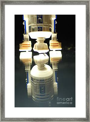 R2-d2 Toy Framed Print by Micah May
