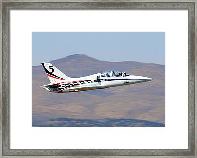 R2d2 Flies At The Reno Air Races Framed Print