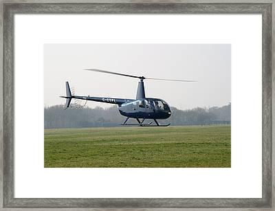 R44 Raven Helicopter Framed Print