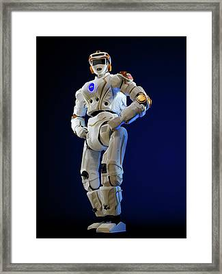 R5 Humanoid Robot Framed Print by Nasa