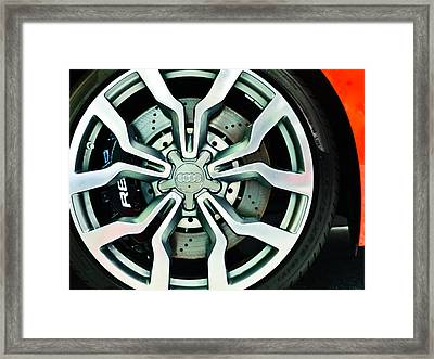 R8 Framed Print by Ronda Broatch