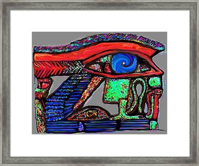 Ra-ra Framed Print