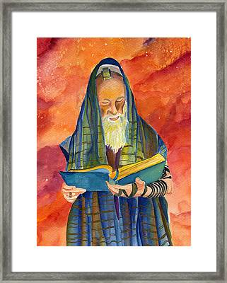 Rabbi I Framed Print by Dawnstarstudios
