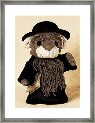 Rabbi T Framed Print