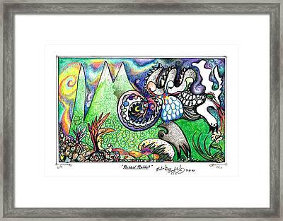 Rabbid Rabbit Framed Print