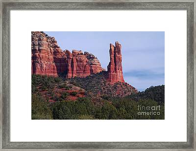 Rabbit Ear Rock Framed Print