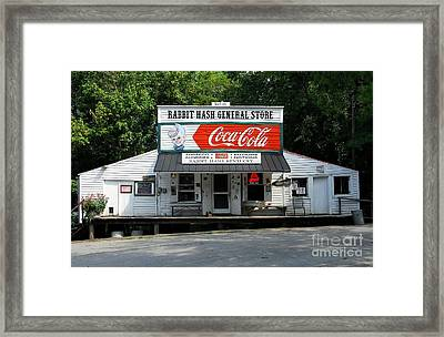 Rabbit Hash Framed Print by Mel Steinhauer