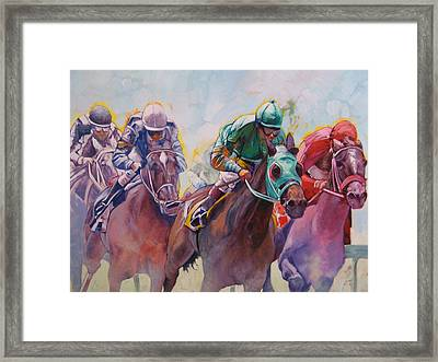 Race 2 Framed Print by Janina  Suuronen