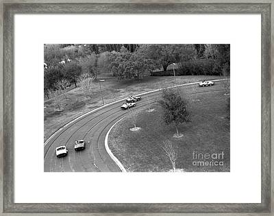 Race Cars Disney World 1995 Framed Print