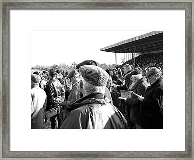 Framed Print featuring the photograph Race Day by Suzanne Oesterling