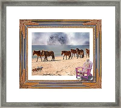 Race Of A Lifetime Framed Print by Betsy Knapp