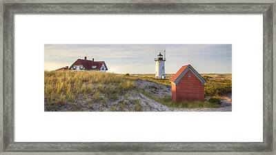Race Point Lighthouse Framed Print