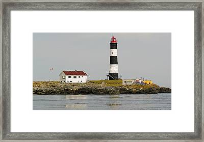 Race Rocks Lighthouse Ecological Preserve Framed Print