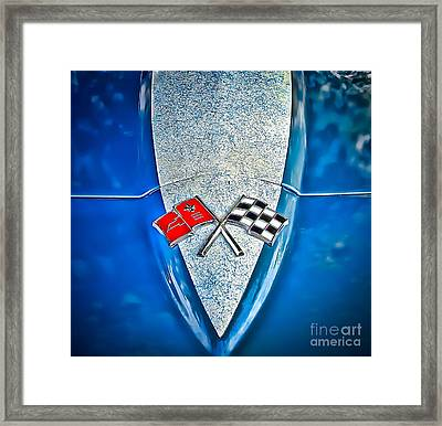 Race To Win Framed Print