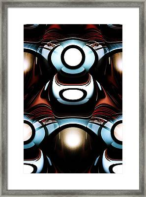 Racer Framed Print by Anastasiya Malakhova