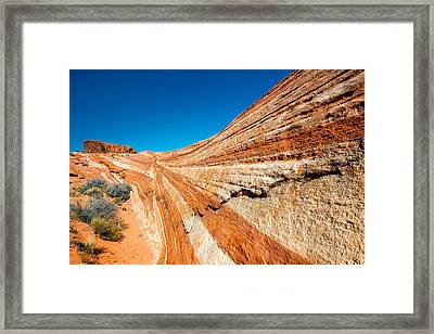 Racetrack Framed Print by Joseph Smith