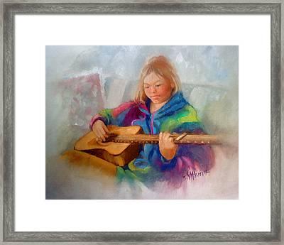 Rachael Framed Print by Janet McGrath