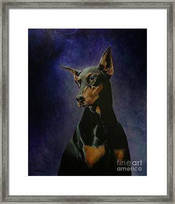 Rachel Framed Print by Ace Robst Jr