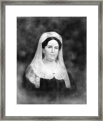 Rachel Donelson Jackson (1768-1828) Framed Print by Granger