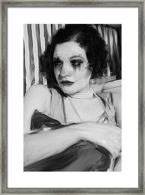 Rachel Jean Framed Print by H James Hoff