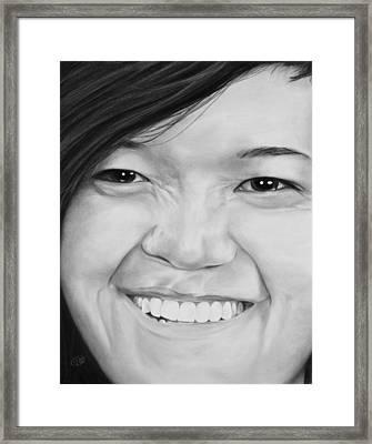 Rachel Framed Print by Jessica Tookey