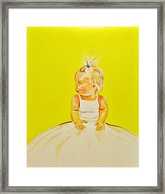 Raci  Framed Print by Cory Green