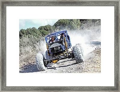 Racing Buggy Framed Print by Photostock-israel