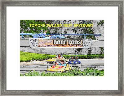 Racing Dreams Framed Print by David Lee Thompson