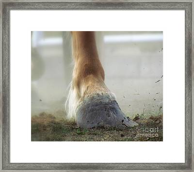 Framed Print featuring the photograph Life Racing by France Laliberte