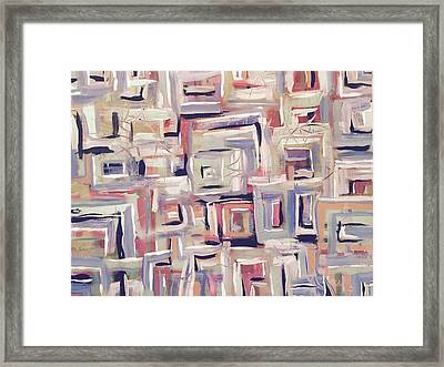 Racing Thoughts - Highs And Lows Framed Print by Edward Paul