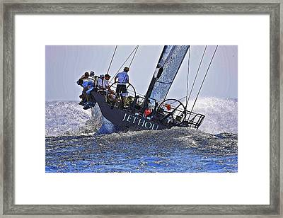 Racing Yacht Framed Print