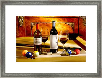 Rack Em Up Framed Print by Jon Neidert