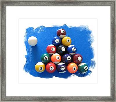 Racked Framed Print by Christopher Rowlands