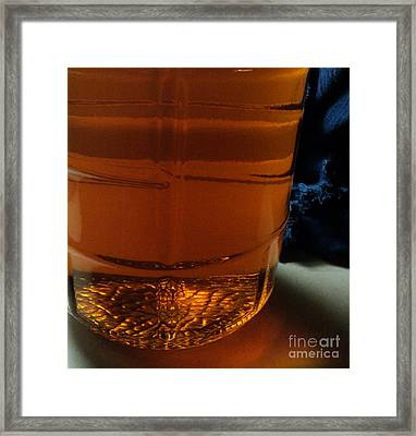 Racked Hops Mead 2013 Framed Print by Padre Art