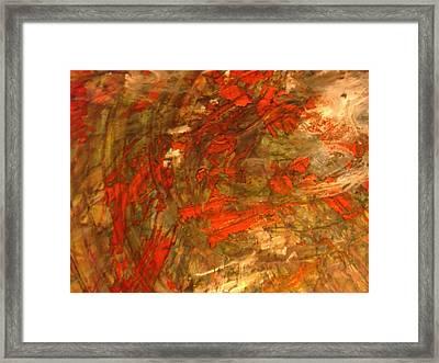 Raconteur Framed Print by Karen Lillard