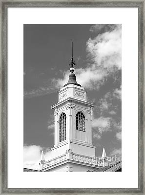Radcliffe College Cupola Framed Print